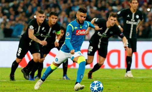 Insigne là ngôi sao đương thời của bóng đá Italy. Ảnh: Reuters