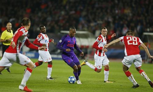 Hàng công lừng danh của Liverpool im tiếng trước sự bủa vây quyết liệt của đội chủ nhà.