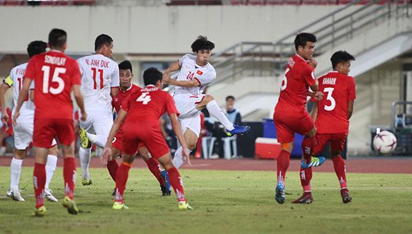 Hình ảnh: Việt Nam  3-0 Lào: Khởi đầu nhẹ nhàng số 1