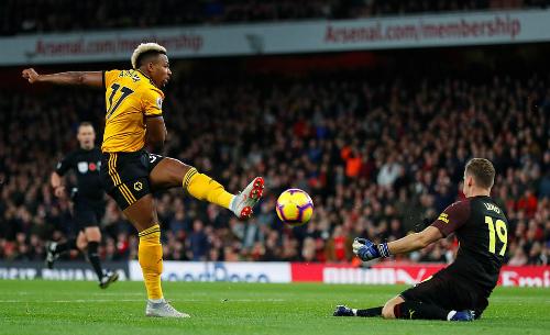 Nếu thủ thành Leno không xuất sắc, lưới của Arsenal có thể đã tung lên thêm vài lần.