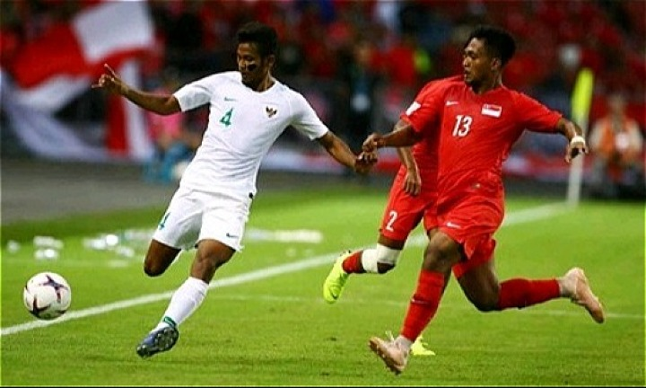 Indonesia (áo trắng) mới có ba điểm và trước mắt họ là Thái Lan và Philippines. Ảnh: Detik.