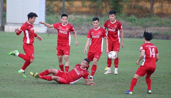 Trận gặp Malaysia là cơ hội kiểm chứng thực lực của thầy trò HLV Park Hang-seo. Ảnh: Lâm Thỏa.