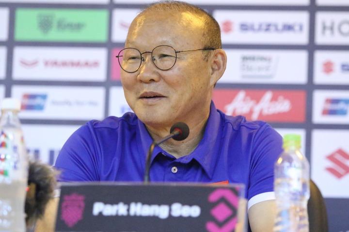 HLV Park cần trổ tài để giúp Việt Nam hạ Malaysia. Ảnh: Lâm Thỏa.