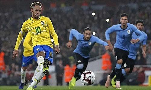 Brazil thắng Uruguay nhờ quả phạt đền tranh cãi - Thể Thao