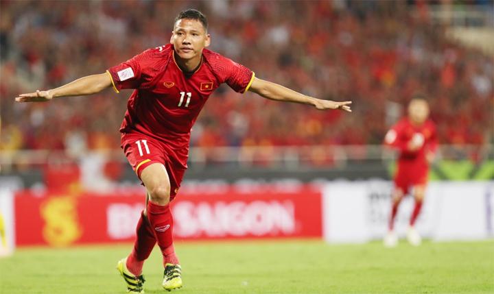 Anh Đức đang đạt phong độ cao, với hai bàn sau hai trận ở AFF Cup năm nay. Ảnh: Đức Đồng.