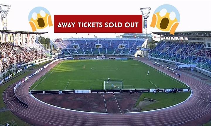 Sân Thuwunna sẽ không có chỗ trống cho trận Myanmar - Việt Nam. Ảnh: MFF.