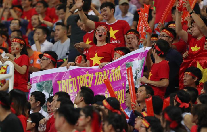 Vé trận Việt Nam - Philippines sẽ tiếp tục được bán online