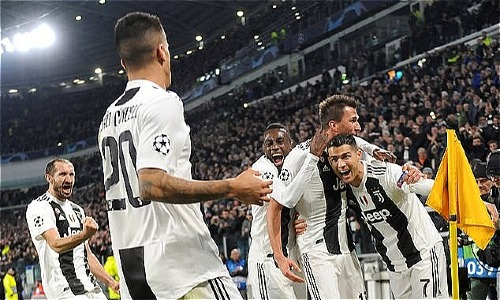 Juventus qua vòng bảng Champions League với chiến thắng tối thiểu trên sân nhà. Ảnh: Reuters.