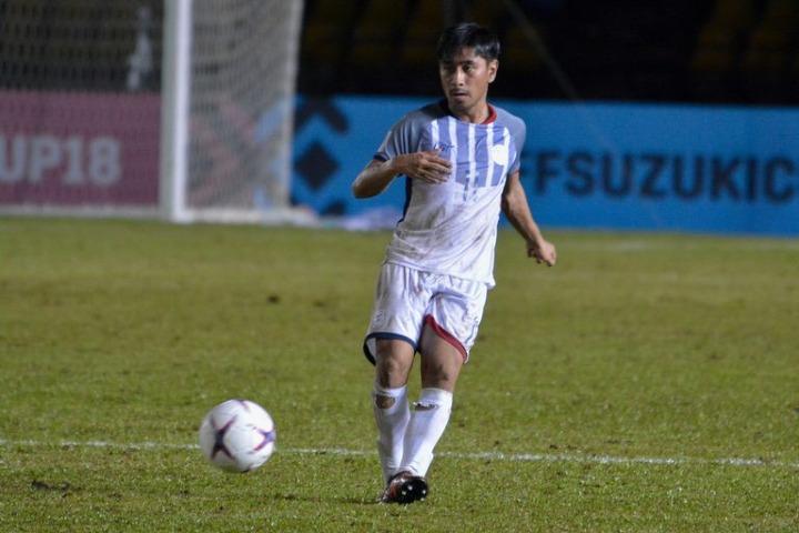 Sato là một trong những vắng mặt đáng tiếc nhất của Philippines, khiến HLV Eriksson chỉ còn 18 cầu thủ trong tay. Ảnh: AFF.