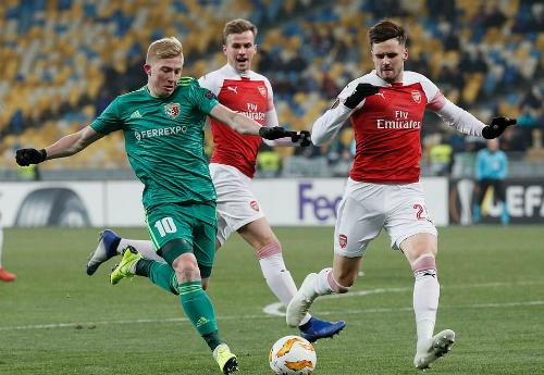 Không còn cơ hội đi tiếp nên tinh thần thi đấu của các cầu thủ Poltava cũng không đạt trạng thái cao nhất.