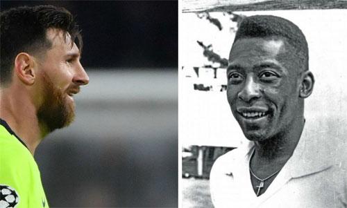 Messi sắp đuổi kịp và phá kỷ lục của Pele.