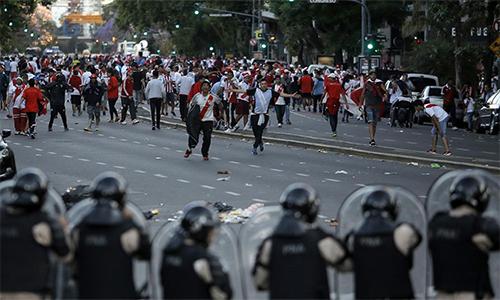 River Plate từ chối đấu Boca Juniors tại Bernabeu - ảnh 1