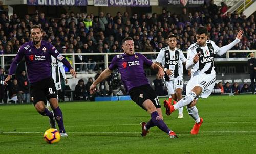 Bentancur dứt điểm đưa Juventus vượt lên.