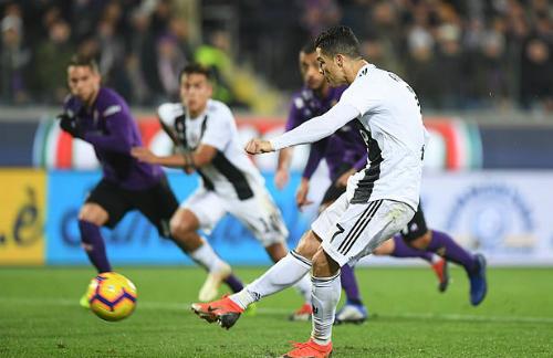 Ronaldo ghi bàn trận thứ ba liên tiếp tại Serie A.