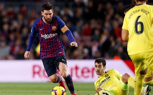 Messi không để lại nhiều dấu ấn ngoài một pha dọn cỗ.