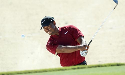 Woods chỉ hai lần không qua nhát cắt trong mùa giải 2018, có tám lần vào top 10 và giành một danh hiệu. Ảnh: Golfweek.