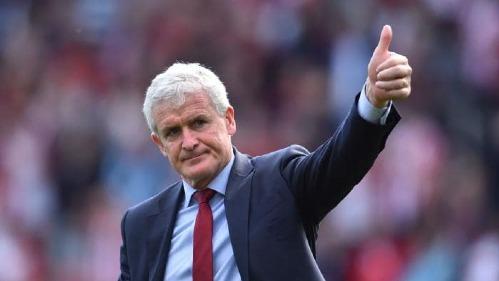 Trün hòa 2-2 Southampton, Manchester United, Mark Hughes, has been named Man Utd. Ảnh: AFP.