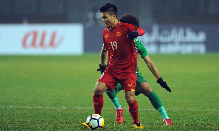 Quang Hải sẽ tiếp tục là niềm hy vọng của Việt Nam ở Asian Cup 2019. Ảnh: AFC.