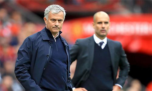 Mourinho luôn tỏ ra ghen tị với đồng nghiệp Guardiola về việc đồng nghiệp được cấp nhiều tiền hơn để mua sắm cầu thủ.