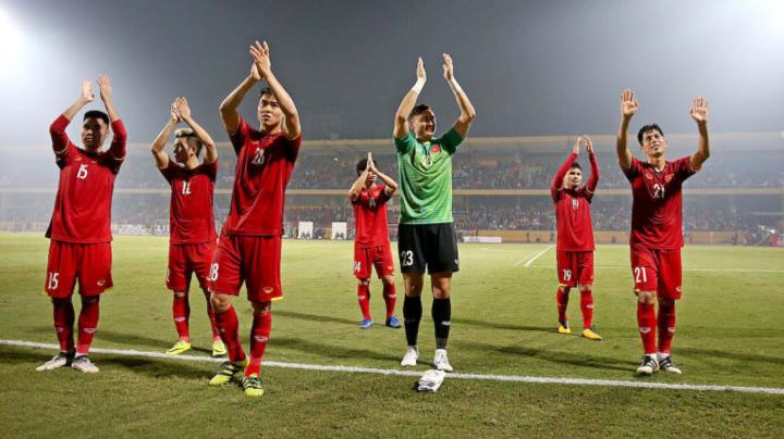 Xuyên thủng hàng thủ Việt Nam là bài toán đang chờ lời giải từ Malaysia. Ảnh: AFC.