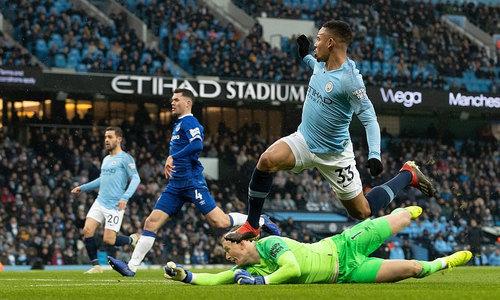 Man City đòi lại ngôi đầu Ngoại hạng Anh - Thể Thao