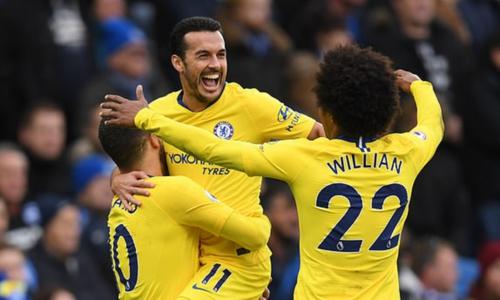 Hazard ghi bàn và kiến tạo, Chelsea củng cố vị trí thứ tư - Thể Thao