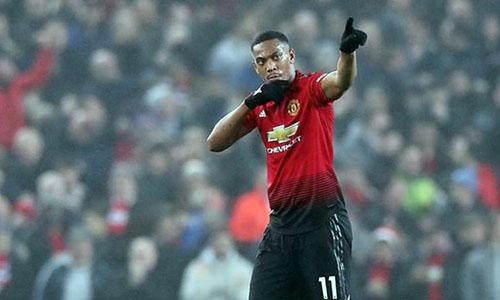 Martial sẽ ở lại Man Utd tới hè 2020. Ảnh: PA.