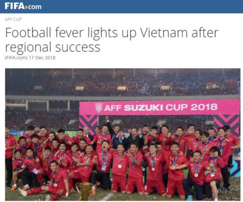 FIFA: 'Thời hoàng kim của bóng đá Việt Nam chưa dừng lại'