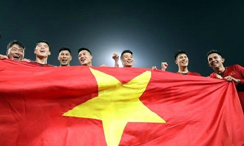 Việt Nam là số một Đông Nam Á lúc này, cả về thành tích sân cỏ lẫn vị trí trên bảng thứ tự FIFA. Ảnh: Lâm Đồng.