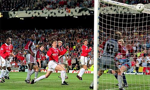 Solskjaer được nhớ đến với bàn ấn định thắng lợi 2-1 trước Bayern ở phút bù giờ, giúp Man Utd vô địch Champions League năm 1999.