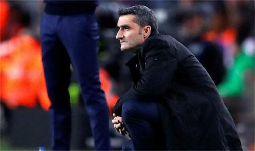 HLV Valverde có thể tạm trút bỏ gánh lo tại La Liga.
