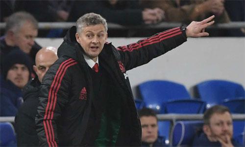 HLV trẻ Solskjaer thành công ngay trận đầu dẫn dắt Man Utd. Ảnh: Reuters