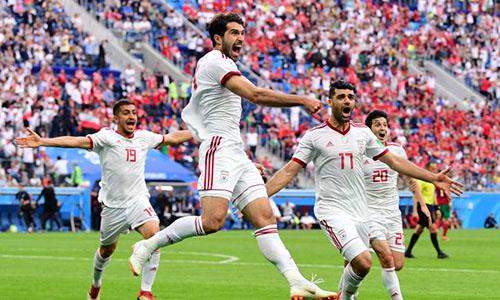 Iran là đội tuyển châu Á đứng hạng cao nhất trong bảng thứ tự FIFA tháng 12/2018. Ảnh: AFC.