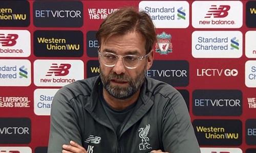Jurgen Klopp rất muốn có danh hiệu đầu tiên cùng Liverpool. Ảnh: PA.