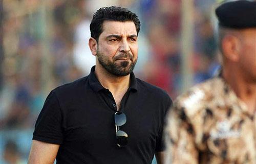 Cựu danh thủ Hamza Hadi từng khoác áo đội tuyển Iraq từ năm 2000. Ảnh: Reuters.
