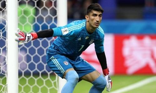 Beiranvand là thủ môn số một của Iran tại World Cup 2018. Ảnh: FarsNews.