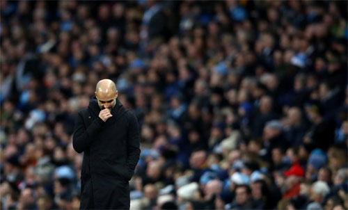 Man City không còn phép màu mang tên Guardiola. Ảnh: Reuters