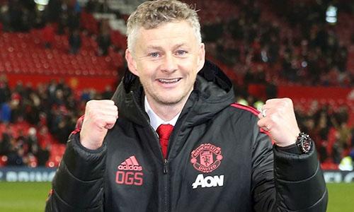 Solskjaer giúp niềm vui trở lại với Man Utd. Ảnh: PA.