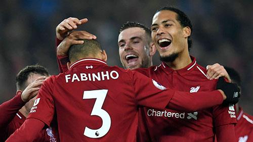 Liverpool đã mang về nhiều hợp đồng bom tấn trong một năm qua như Van Dijk, Alisson, Fabinho. Ảnh: PA.