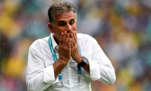 Queiroz dẫn dắt Iran từ năm 2011 với hai lần dự World Cup. Ảnh: Reuters