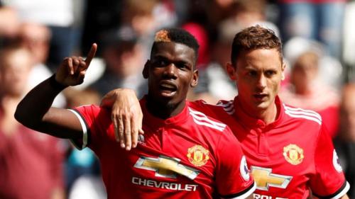 Pogba và Man Utd là hai trụ cột ở tuyến giữa Man Utd. Ảnh: Reuters.