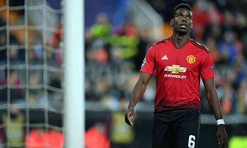 Pogba ghi bốn bàn và có ba kiến tạo trong ba trận đầu tiên của Solskjaer. Ảnh: Reuters.