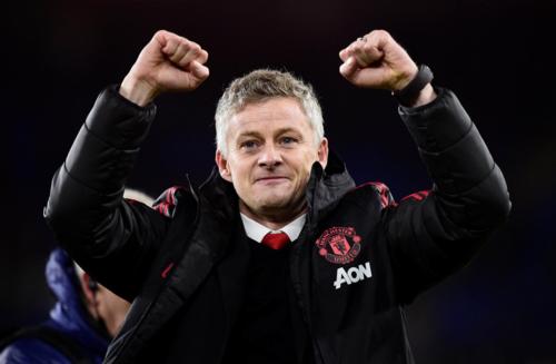 Solskjaer mang niềm vui trở lại sân Old Trafford. Ảnh: AFP.