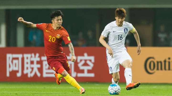 Trung Quốc và Hàn Quốc đều đặt nhiều tham vọng ở Asian Cup 2019. Ảnh: AFC.