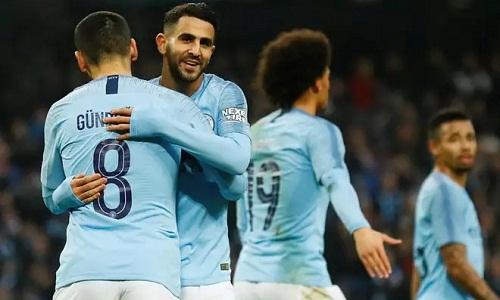 Man City có trận thắng đậm nhất dưới triều đại của Guardiola. Ảnh: Reuters.