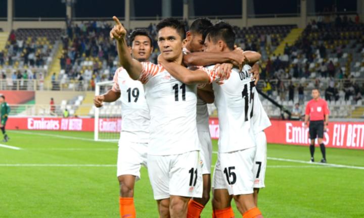 Ấn Độ gây bất ngờ lớn trong loạt trận ra quân Asian Cup 2019. Ảnh: AFC.
