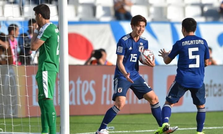 Osako lập cú đúp giúp Nhật Bản nhanh chóng đảo ngược thế trận. Ảnh: AFC.