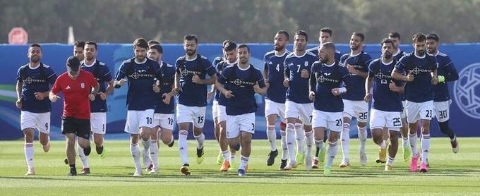 Iran tập 'bóng đá quần vợt' trước trận Việt Nam