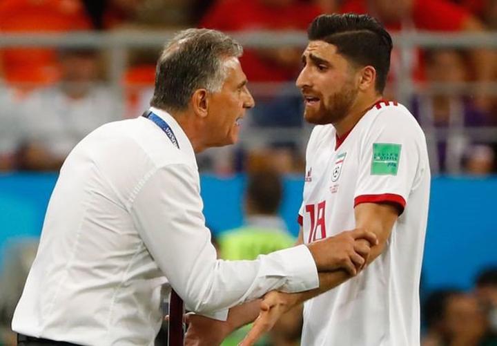 Tiền vệ công Alireza Jahanbakhsh là một trong những cầu thủ chất lượng nhất của Iran hiện nay.