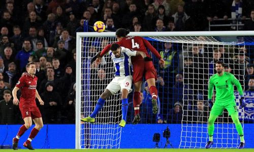 Liverpool trải qua trận đấu khó khăn, nhưng vẫn giành điểm số tối đa. Ảnh: EPL.